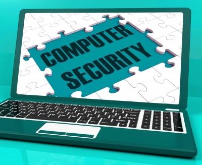 ordenador con seguridad antivirus